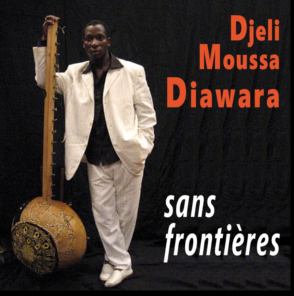 djeli moussa diawara - sans frontieres - cover