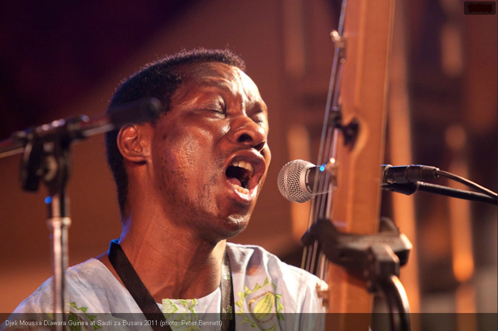 Djeli Moussa Diawara - Sauti za Busara 2011