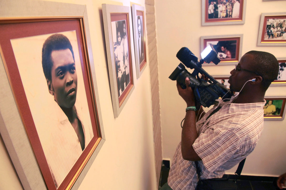 videographer Fela Kuti Lagos