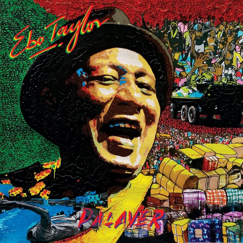 ebo taylor - palaver - cover