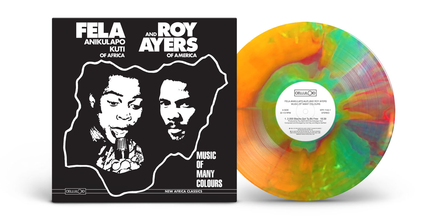 Fela Kuti - Roy Ayers - Music of many Colours