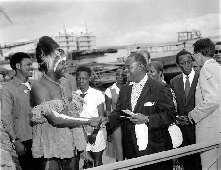 Louis Armstrong in Congo